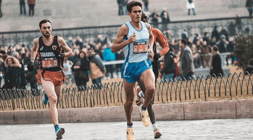 Meucci all'Atleticom We Run Rome 2018
