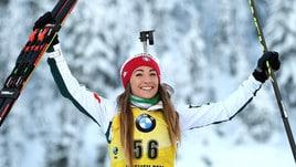 Biathlon,Wierer vince la gara sprint: è sempre più leader mondiale