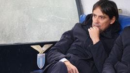 Lazio, Simone Inzaghi: «La seconda rete dell'Eintracht era in fuorigioco»
