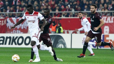 Europa League Olympiacos-Milan 3-1, il tabellino