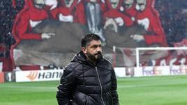 Gattuso, giusto che il Milan vada a casa