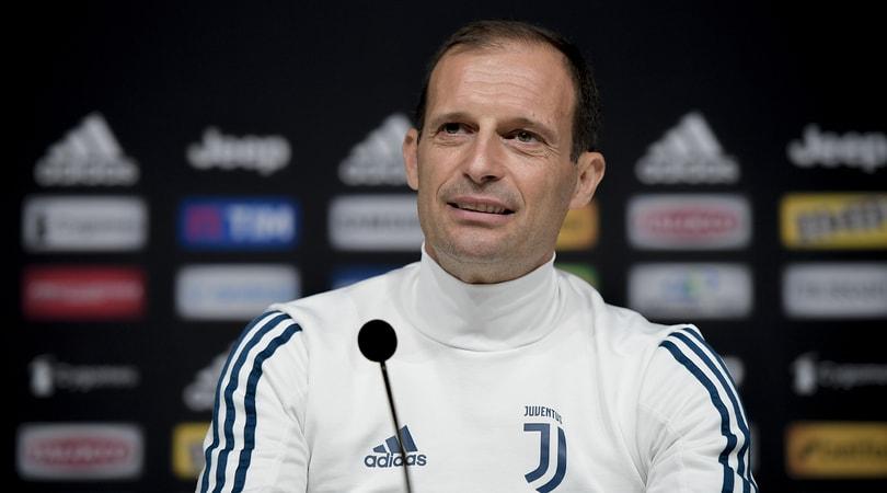 Juventus, Allegri: «Cancelo si opera, Cuadrado forse»