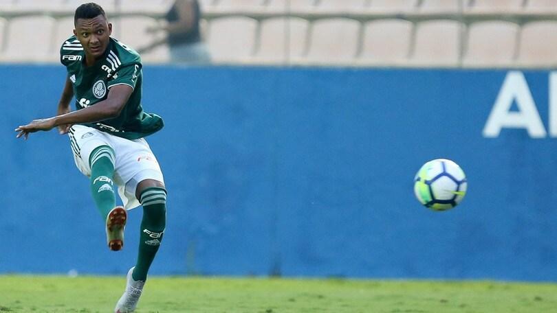 Luan Candido, con Palmeiras.