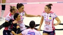 Volley: A1 Femminile, domani quattro partite del 10° turno