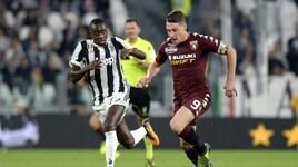 Diretta Torino-Juventus, probabili formazioni e tempo reale alle 20:30. Dove vederla in tv