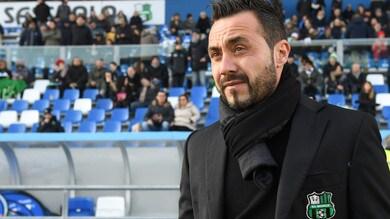 Serie A Sassuolo, De Zerbi: «Dobbiamo prendere la gara nel verso giusto»