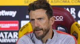 Roma, Di Francesco: «Nuovo inizio contro il Genoa. Io non sono abituato a scappare»