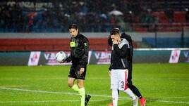 Serie B, Cosenza-Benevento rinviata per impraticabilità del campo