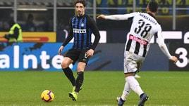 Serie A Inter-Udinese 1-0, il tabellino