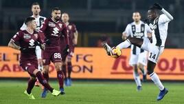 Serie A Torino-Juventus 0-1, il tabellino