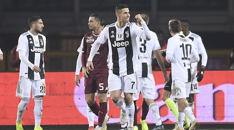 Torino-Juventus 0-1: Cristiano Ronaldo decide il derby su rigore