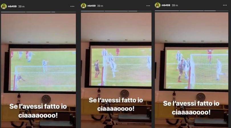 Balotelli sulla spallata di Ronaldo:«Se l'avessi fatto io...»