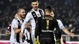 Ronaldo, spallata a Ichazo dopo il rigore: giallo