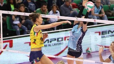 Volley: A1 Femminile, vincono Novara, Busto, Conegliano e Bergamo