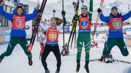 Biathlon, Coppa del Mondo donne: la Wierer trascina l'Italia nella staffetta