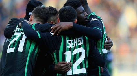 Sassuolo, una vittoria per l'Europa. Ok Fiorentina e Sampdoria