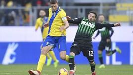 Calciomercato, il Sassuolo vuole respingere l'assalto a Sensi