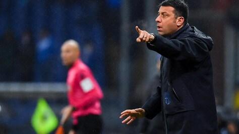 Serie A Parma, D'Aversa: «Sampdoria migliore di noi nel secondo tempo»