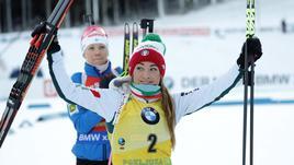 Biathlon: Italia rosa vince a Hochfilzen