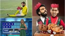 United travolto a Liverpool: Mourinho nel mirino dei social