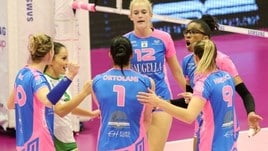 Volley: A1 Femminile, Scandicci cade a Cuneo, Monza vince il derby