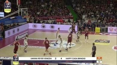 Umana Reyer Venezia-Happy Casa Brindisi 70-59