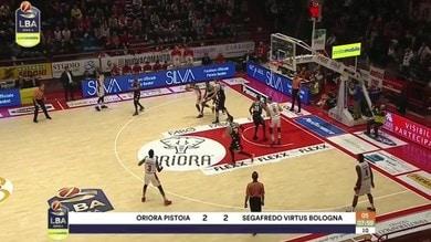 Oriora Pistoia-Segafredo Virtus Bologna 71-81