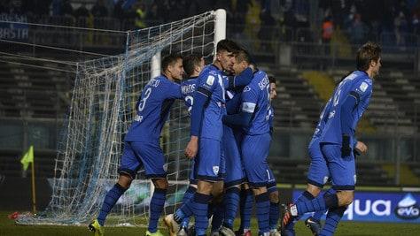 Serie B, Brescia-Lecce 2-1: Gastaldello firma la rimonta lombarda