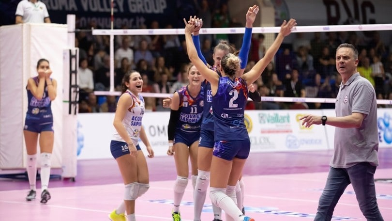 Volley: A2 Femminile, Roma ferma Orvieto, Perugia aggancia Trento