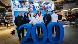Universiadi di Napoli 2019: -200