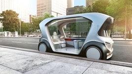 Bosch, shuttle elettrico e a guida autonoma al CES di Las Vegas: foto