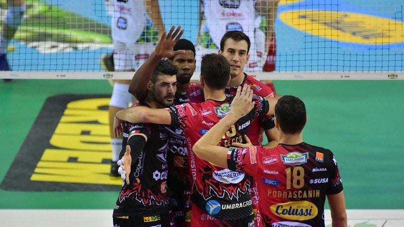 Volley: Champions League, mercoledì in campo Civitanova, Perugia e Modena