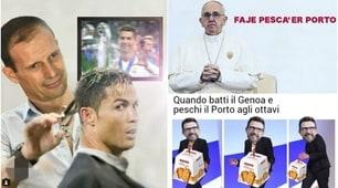 Champions League, Roma-Porto e Atletico-Juventus: la reazione dei social