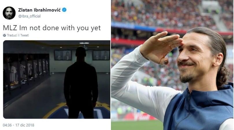 Ibrahimovic gela il Milan:«MLZ, non ho ancora finito con te...»