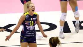 Volley: Champions Femminile, Conegliano apre la 2a giornata