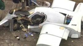 Auto volante, incidente a Detroit durante un test