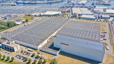 Nissan, risparmio energetico record col tetto solare dell'impianto di Amsterdam