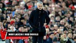 Manchester United, clamoroso addio di Mourinho