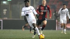 Serie A Bologna-MIlan 0-0, il tabellino