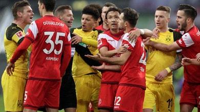 Bundesliga, scivola il Dortmund capolista. Bene il Monchengladbach