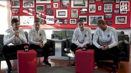 Il Milan all'esame di rugby con DAZN