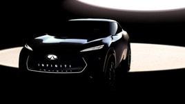 Infiniti, teaser del SUV elettrico al Salone di Detroit