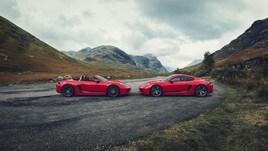 Porsche Cayman T e Boxster T, il divertimento mette il turbo