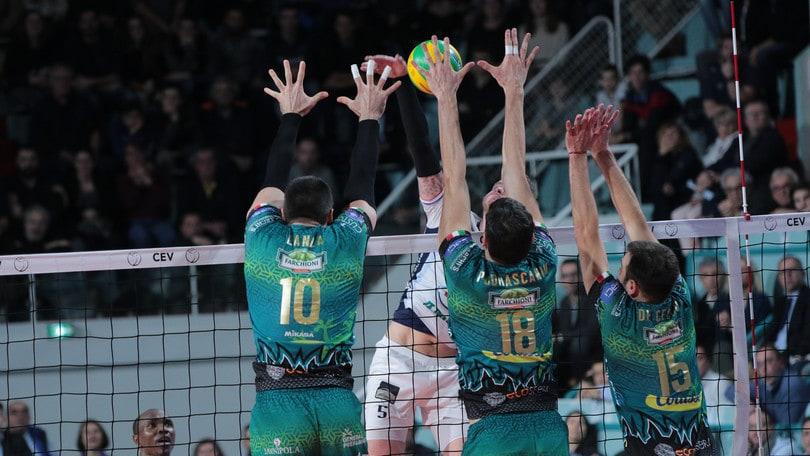 Volley: Champions League, Perugia sbanca il campo di Tours