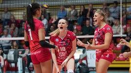 Volley: A1 Femminile, Busto-Novara che sfida, Brescia-Chieri in anticipo
