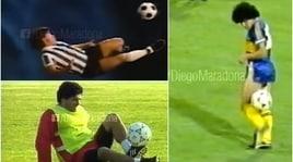 Magie senza tempo sulle note dei Beatles: il regalo di Natale di Maradona