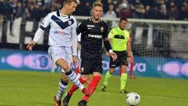 Serie B, Ascoli-Brescia 1-1: Bisoli la riprende all'ultimo minuto