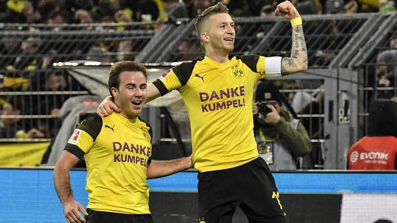 Bundesliga, al Borussia Dortmund l'anticipo contro il Moenchengladbach