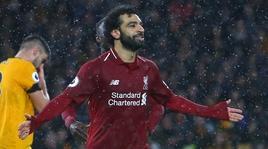 Premier League,Wolverhampton-Liverpool 0-2: prove di fuga con Salah e Van Dijk