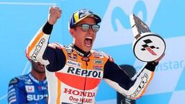 MotoGp: comanda ancora Marquez, Rossi insegue Lorenzo e Dovizioso